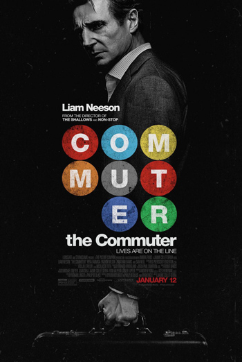 Commuter, The movie poster