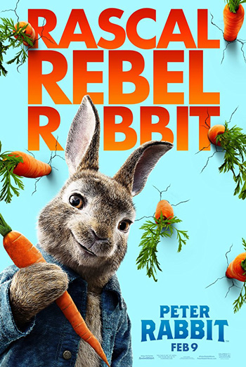 Peter Rabbit - in theatres 02/09/2018