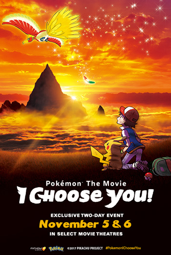 Pokemon the Movie: I Choose You! movie poster