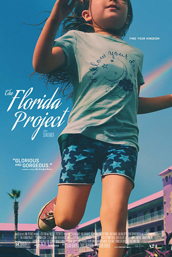 Florida Project, The movie poster