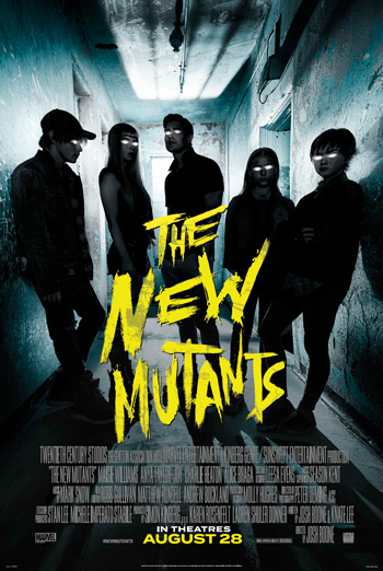 New Mutants, The movie poster