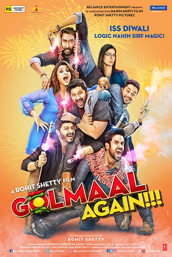 Golmaal Again!!! (Hindi W/E.S.T.) movie poster