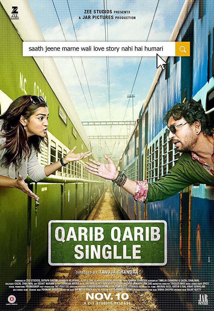 Qarib Qarib Singlle (Hindi W/E.S.T.) movie poster