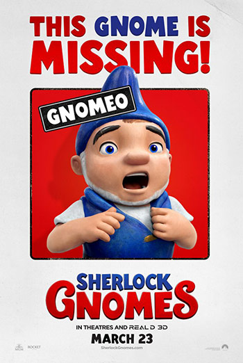 Sherlock Gnomes - in theatres 03/23/2018