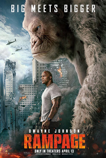 Rampage - in theatres 04/13/2018
