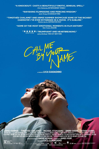 Call Me By Your Name - in theatres 12/15/2017