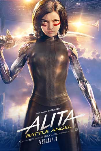 Alita: Battle Angel - in theatres 02/14/2019