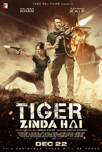 Tiger Zinda Hai (Hindi) movie poster