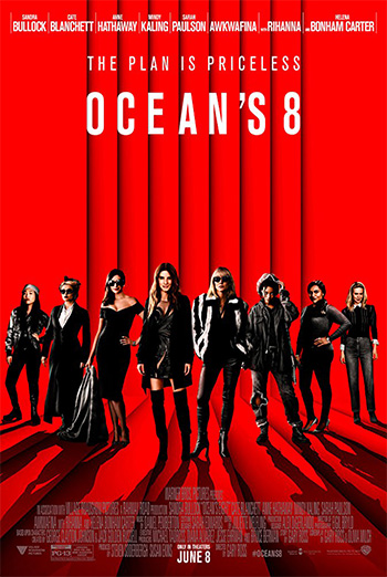 Ocean's 8 - in theatres 06/08/2018