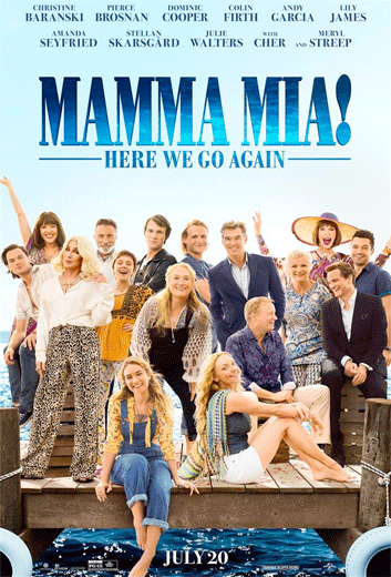 Mamma Mia: Here We Go Again - in theatres 07/20/2018