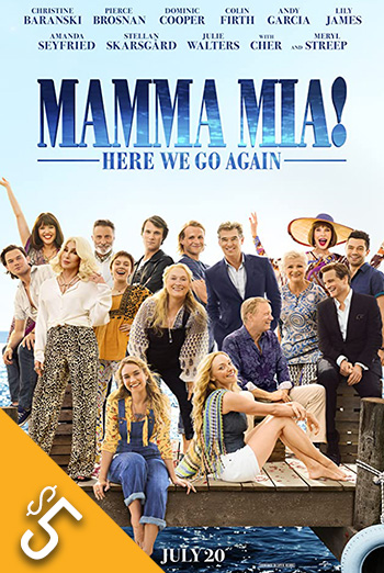 Mamma Mia: Here We Go Again movie poster