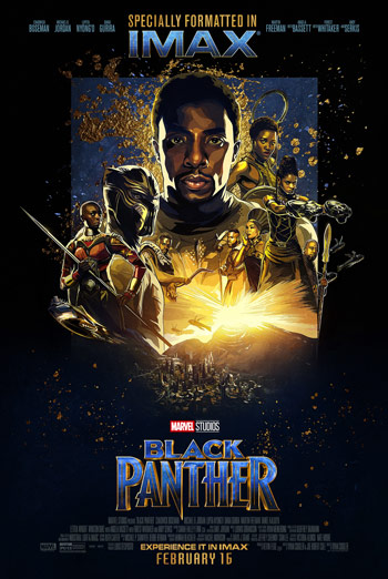 Black Panther (IMAX) movie poster