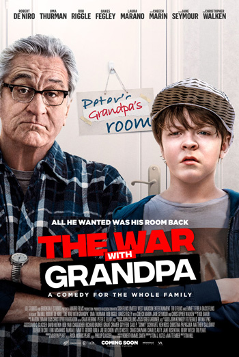 War With Grandpa, The movie poster