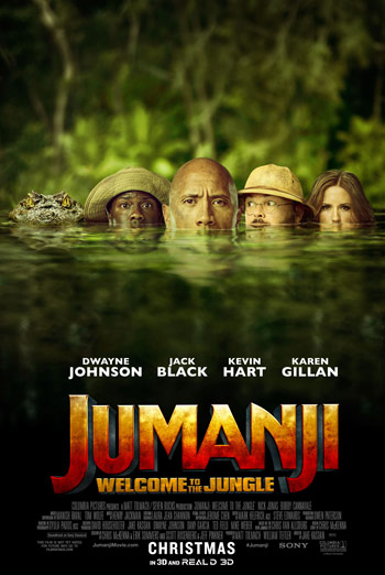 Jumanji: Welcome to the Jungle (IMAX) movie poster