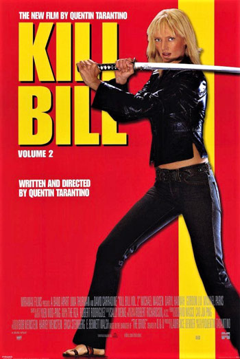 Blunt Review and Analysis: Pulp Fiction (1994) KillBillVol2Poster