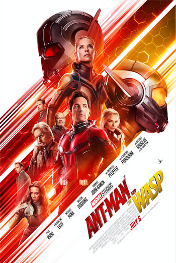 Ant-Man And The Wasp - in theatres 07/06/2018