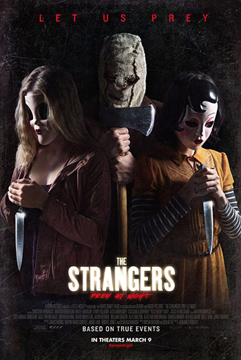 Strangers Prey at Night, The movie poster