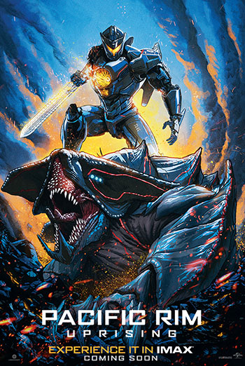 Pacific Rim: Uprising (IMAX) movie poster