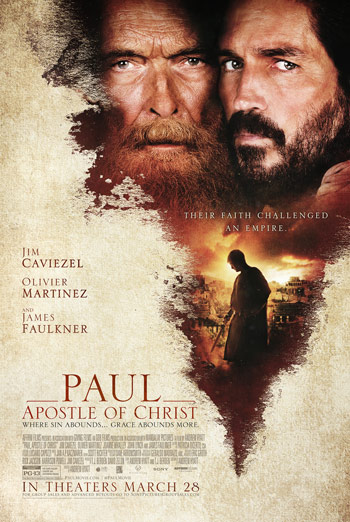 Paul, Apostle of Christ - in theatres 03/23/2018