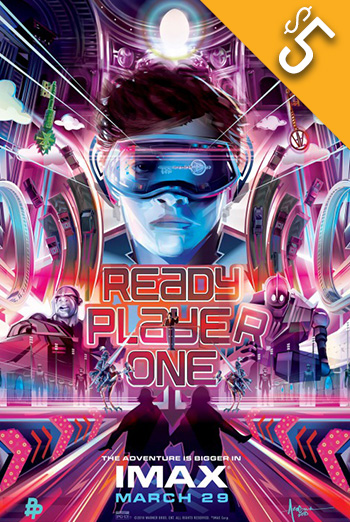 Ready Player One (IMAX) movie poster