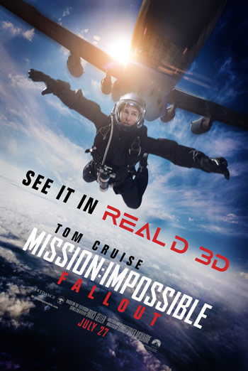 Mission: Impossible Fallout movie poster