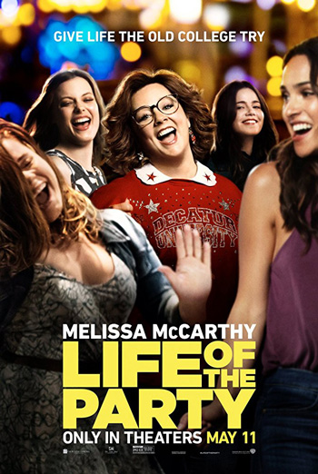 Life of the Party - in theatres 05/11/2018