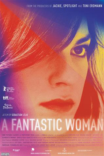 Fantastic Woman, A movie poster