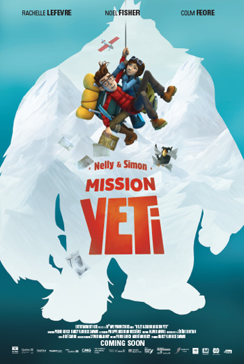 Mission Yeti: The Adventures of Nelly & Simon movie poster