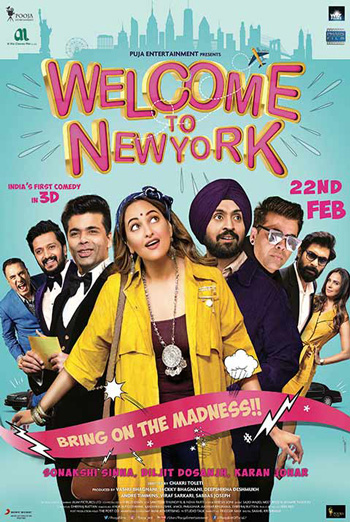 Welcome To New York (Hindi W/E.S.T.) movie poster