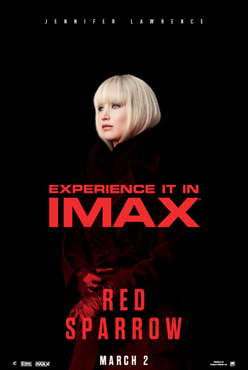 Red Sparrow (IMAX) movie poster