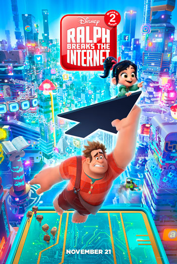 Ralph Breaks the Internet - in theatres 11/21/2018