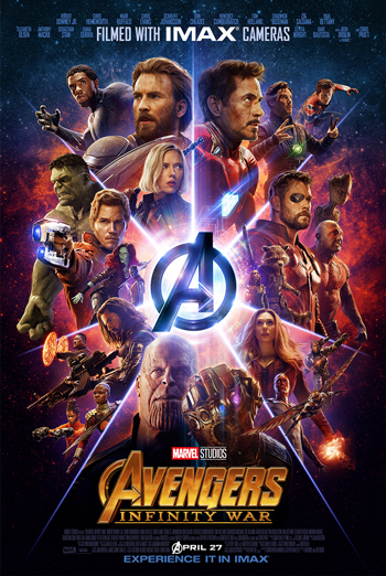 Avengers: Infinity War (IMAX) movie poster