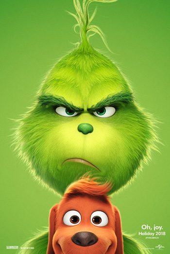 Grinch, The movie poster