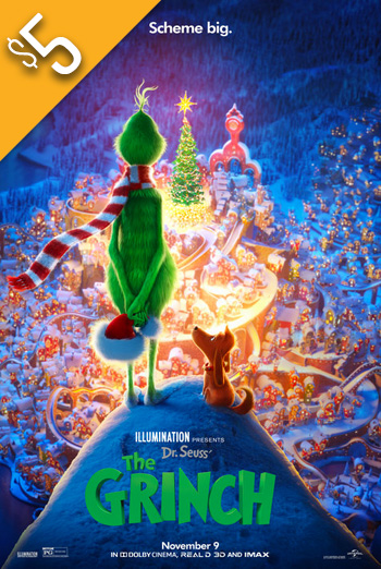 Dr. Seuss' The Grinch (2018) movie poster