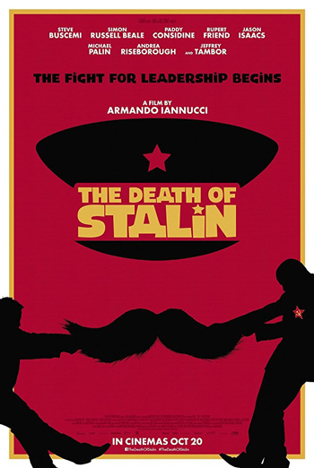 Death of Stalin, The movie poster