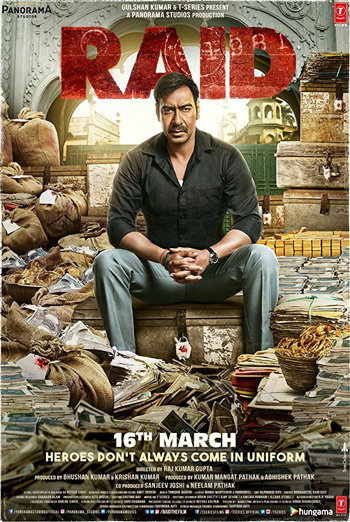 Raid (Hindi W/E.S.T.) movie poster