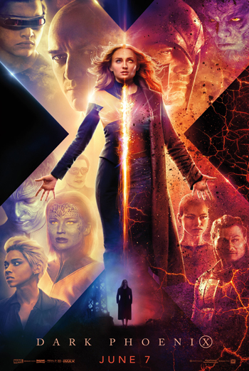 X-Men: Dark Phoenix movie poster
