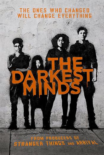 Darkest Minds, The movie poster