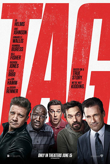 Tag - in theatres 06/15/2018