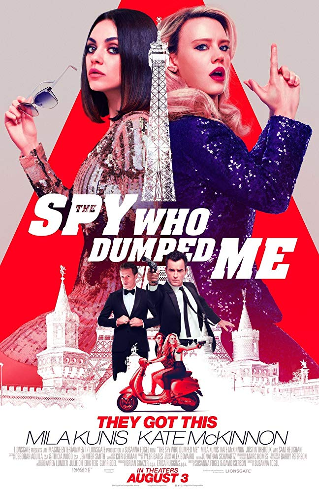 Spy Who Dumped Me, The movie poster