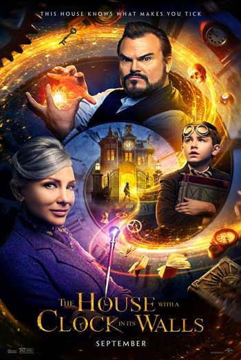 House With A Clock In Its Walls, The - in theatres 09/21/2018