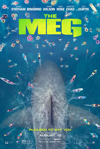 Meg, The movie poster