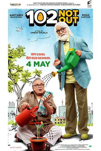 102 Not Out (Hindi W/E.S.T.) movie poster