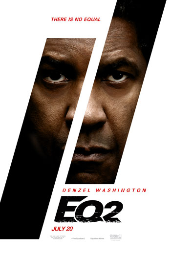 Equalizer 2, The movie poster