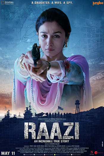 Raazi (Hindi W/E.S.T.) movie poster