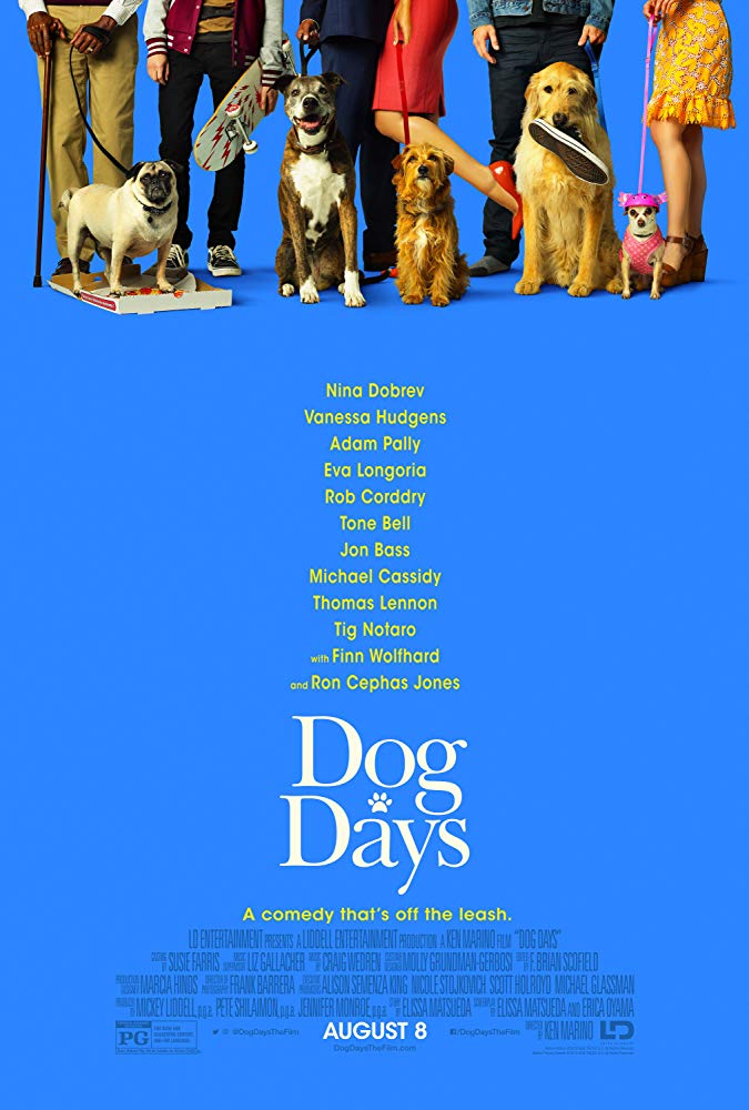 Dog Days - in theatres 08/10/2018