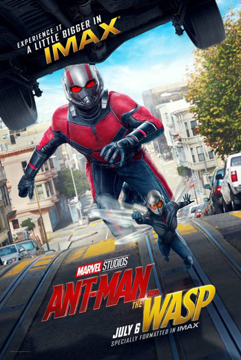 Ant-Man And The Wasp (IMAX) movie poster
