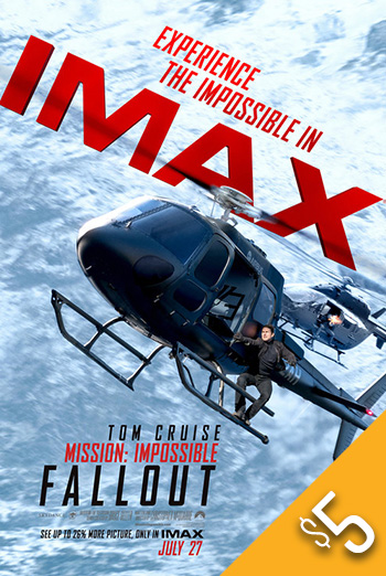 Mission: Impossible Fallout (IMAX) movie poster