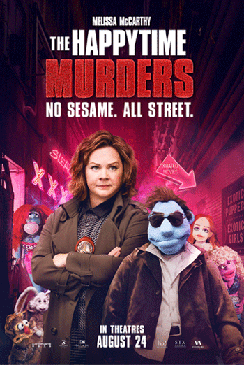 Happytime Murders, The movie poster
