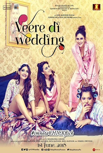 Veere Di Wedding(Hindi W/E.S.T) movie poster